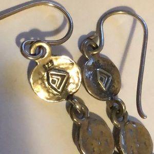 Silpada Jewelry - Silpada W1589 Sterling 925 Daisy dangle earrings